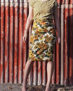 Beautiful vintage style dresses from reclaimed fabrics.