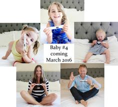 Our Pregnancy Announcement for Baby #4 - we cannot wait to meet the newest addition!  #boyorgirl #pregnancyannouncement #pregnancy #family