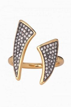 Pave Horn Ring by Stella & Dot