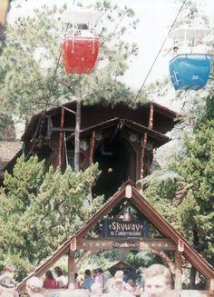 Skyway To Tomorrowland - Walt Disney World - Magic Kingdom..