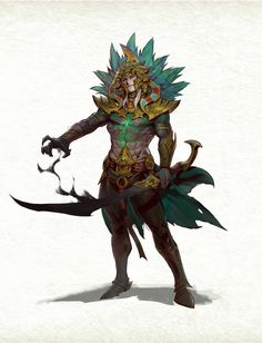 Fantasy Character Design, Character Design Inspiration, Character Concept, Character Art, Concept Art, Dnd Characters, Fantasy Characters, Fantasy Creatures, Mythical Creatures