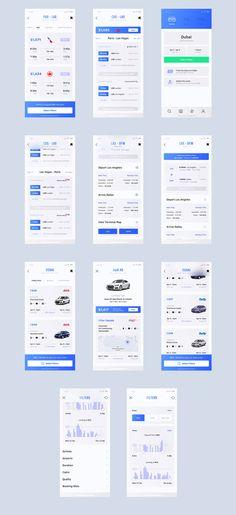 Heaven Mobile UI Kit — UI Kits on UI8