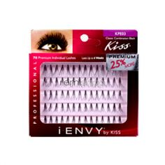 iEnvy Individual Classic Flare KPE03 Combo - Color Black - Individual Natural Style Eyelashes
