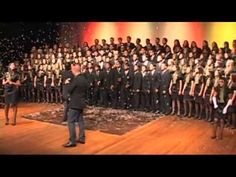 "This video is by the Young Choir of Goiania (Coral Jovem de Goiania), Brasil singing ""Grandioso és Tu"" (How Great Thou Art)."
