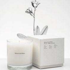 The No.08 La petite Louise Candle by Maison Louis Marie is a lilac fragrance with a green bamboo nuance, complemented with a vanilla and orange blossom note.