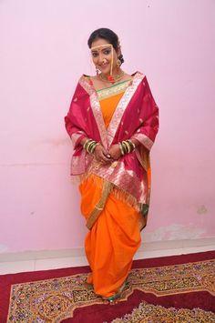 Marathi Bride & Maharashtrian Pride Marathi Saree, Marathi Bride, Marathi Wedding, Saree Wedding, Wedding Bride, Kashta Saree, Sari, Indian Bridal Photos, Nauvari Saree