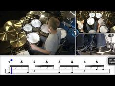 Single Paradiddle Applications - Free Drum Lessons - YouTube