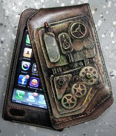iPhone Case, Steampunk feel by catbones.deviantart.com on @deviantART