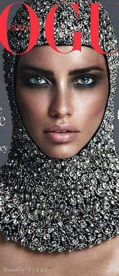 Adriana Lima ♥✤ futuristic November cover by Mert & Marcus: Out October 29th