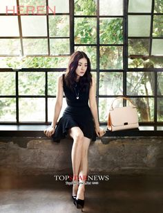 Lee Bo Young for Heren
