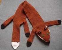 Ravelry: Fox scarf pattern by Twisted Classics