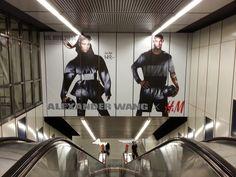 H&M Stationbranding Stephansplatz Wien Darth Vader, Visual Communication, Advertising