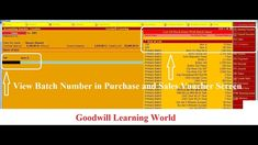 Tally TDL for Batch wise Details in Sales Invoices - Tally Add on for Ba. Pastel Accounting, Party Names, Ads, Learning, Free, Studying, Teaching, Onderwijs