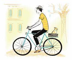 ¿Es tu ciudad una ciudad amante de las bicis?  Bojana Dimitrovski www.mcmillandigitalart.com *