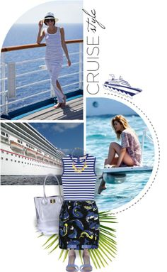 """""""Anchors Aweigh: Cruise Ship Vacation"""" by jenpeterson07 on Polyvore"""