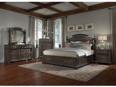 The Klaussner International versailles (SKU:980 BEDROOM) is an enticing piece that brings pleasure to any home.