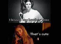 Epic Game Of Thrones Meets Star Wars Memes! Hilarious memes about Star Wars and Game of Thrones char Star Wars Meme, Jon Snow, Cersei Lannister, Jaime Lannister, Humor Mexicano, Superwholock, Game Of Throne Lustig, Serie Got, Got Merchandise