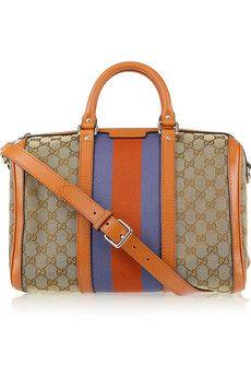 Gucci bag... gator colors!