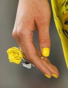 Decoración de uñas 2014 vista en las pasarelas - Tendencias Top