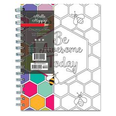 TF Publishing Hello Happy Coloring Journal, 140 Pgs, (8