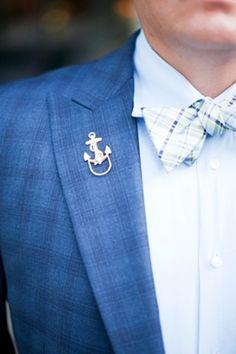 brides of adelaide magazine - nautical wedding - groom
