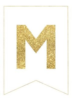 Gold Free Printable Banner Letters Use our gold free printable banner letters to make any custom banner message that you would like to make. Add your childs name on a happy birthday banner, make an Easter banner, New Year banner, Christmas banner, baby shower decoration, congratulations, retirment party banner, Mother's day banner, wedding banner. The …