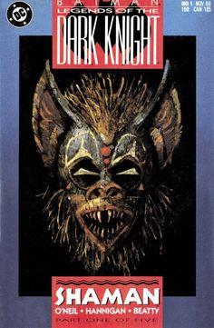 Batman: Legends of the Dark Knight #1 cover by Ed Hannigan. Free Batman Comics.