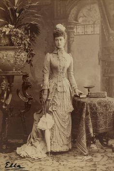HIH THE GRAND DUCHESS ELIZAVETHA FJODOROVNA OF RUSSIA, BORN PRINCESS ELIZABETH OF HESSE AND BY RHINE   by the lost gallery