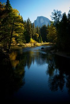 Yosemite Valley, California... one could spend an eternity there and not grow tired of it.