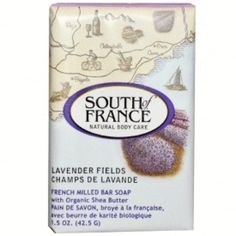 $25.81 South of France 1306307 South of France Bar Soap - Lavender Fields Travel Size - 1.5 oz - Case of 12