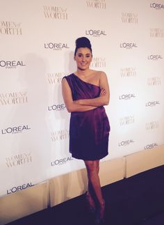 Celebrating #givingtuesday with some of the most amazing women at the @LOrealParisUSA #womenofworth gala