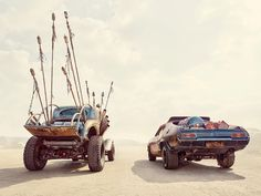Madness Of The Mad Max Cars Captured To Perfection #MadMax #Cars #Photography