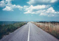 Luigi Ghirri, Scardorari - Strada sull'argine, 1989/90
