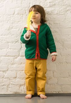 Little Green Radicals - Twill Jeans - Gold - Fair Trade £14.96