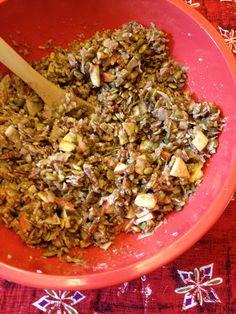 Feeding Ger Sasser - Paleo Apple Pecan Crunch