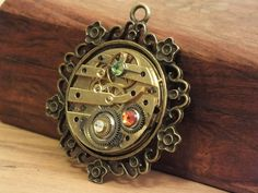 Pendant out of a 19th century Clock by KupferdachProduction