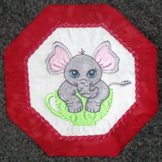 Animal Coasters - Free Instant Machine Embroidery Designs
