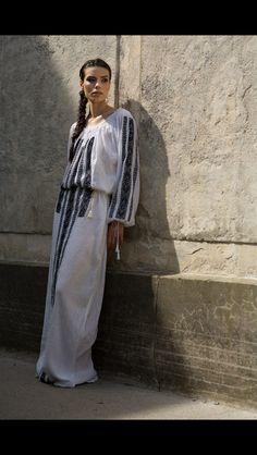 100% hand made traditionally Romanian dress #romaniandesign #traditionalembdoidery #handmade