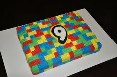 Lady Cupcake's Corner: Lego Cake