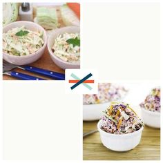 Mayo-based coleslaw or vinegar-based slaw? #foodporn  Download @Seesaw or visit https://seesaw.co/d/1Q0f2f to #vote. #whichone #seesaw