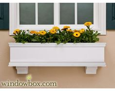 Lancaster Window Box (XL Size) w/ Cleat Mounting System - Estate Collection Window Boxes - Window Boxes - Windowbox.com