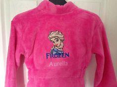 Elsa machine embroidery design