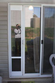 Sliding Glass Doggie Door Insert, Must Have!