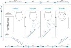Public Bathroom Layout Dimensions In Meters Google Search