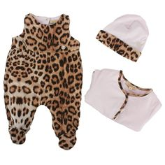 Roberto Cavalli Pink Leopard Print Gift Set