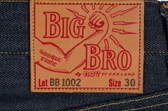 """A rarity reserved for the walls ofSelf Edge, one-man-brand Roywill be releasing a new model of jeans today at 9am PST,the""""Big Bro"""" Round Two Jeans – BB1002. A more tapered version of the"""