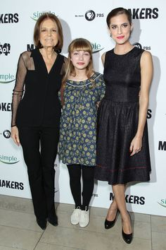 Gloria Steinem, Tavi Gevinson, and Allison Williams via @Refinery29