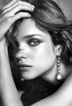 Natalia vodianova photo by Peter Lindbergh for David Yurman