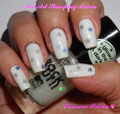 "Nail Art Stamping Mania: Essence Trend Edition Rock Out Review And Swatches  Sinful Colors ""Snow me White"" 101 and Top Coat Glow In The Dark http://nailartstampingmania.blogspot.it/2014/10/essence-trend-edition-rock-out-review.html"