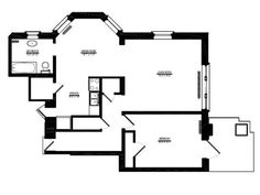 1 Bedroom 1 Bath Floor Plan Of Property Fisher Building
